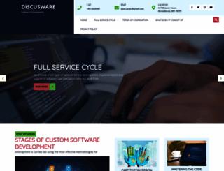 discusware.com screenshot