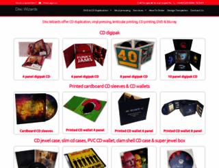discwizards.com screenshot