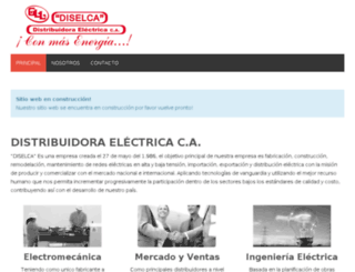 diselca.com.ve screenshot