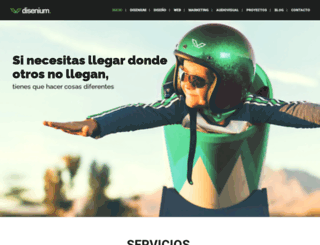 diseniumweb.com screenshot