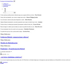 disenodeciudadesincaicas.bligoo.com screenshot