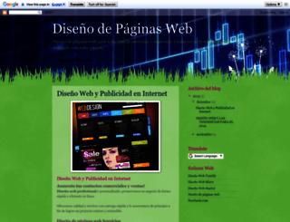 disenowebpro.blogspot.mx screenshot