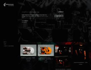 disharmonic.com screenshot