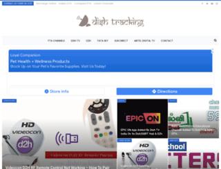 dishtracking.com screenshot
