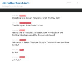 dishutbuntorut.info screenshot