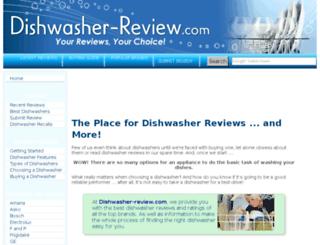 dishwasher-review.com screenshot