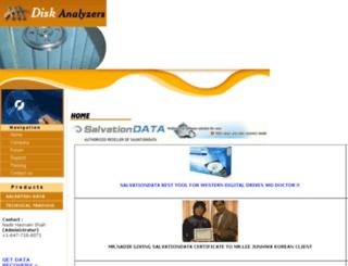 diskanalyzers.com screenshot