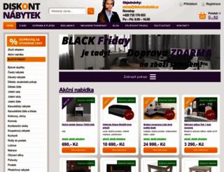 diskontnabytek.cz screenshot