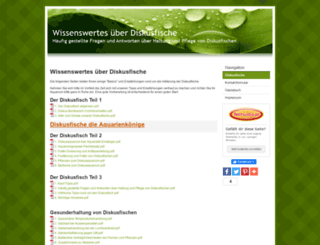 diskusfische-online.beepworld.de screenshot
