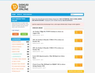 diskusitokoonline.com screenshot