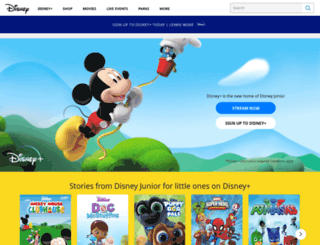 disneychannel.co.nz screenshot