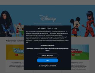 disneychannel.pl screenshot