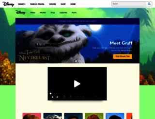 disneyfairies.com screenshot