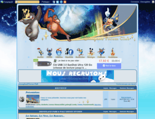 disneyland.forumsclub.com screenshot