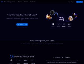 disneymoviesonline.go.com screenshot