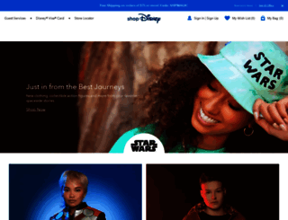 disneystore.com screenshot