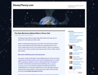 disneytheory.com screenshot