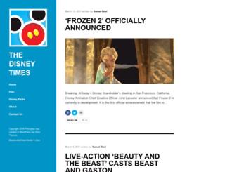 disneytimes.com screenshot