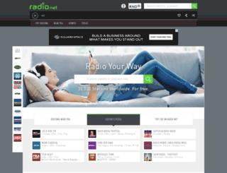 dispacemusic.rad.io screenshot