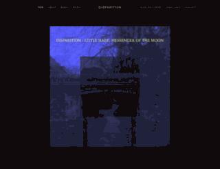 disparition.info screenshot