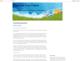 dispatchesfromfrance.blogspot.com screenshot