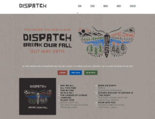 dispatchmusic.com screenshot