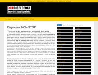 dispecerattractari.ro screenshot