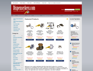dispenserkeys.com screenshot