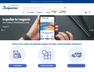 dispersajuguetes.com screenshot