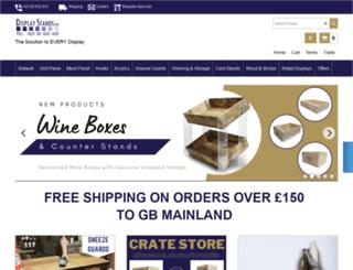 display-stands-uk.com screenshot
