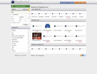 displayad.com screenshot