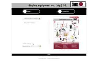 displaycatalogue.co.za screenshot