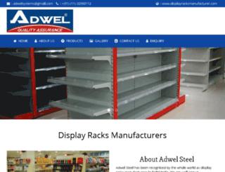 displayracksmanufacturer.com screenshot
