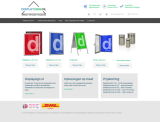displaysign.nl screenshot