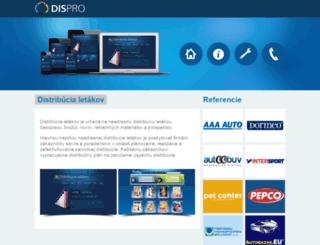 dispro.sk screenshot