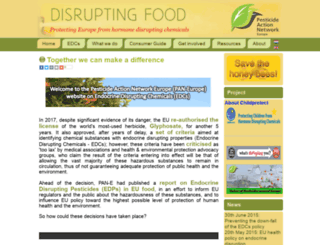 disruptingfood.info screenshot