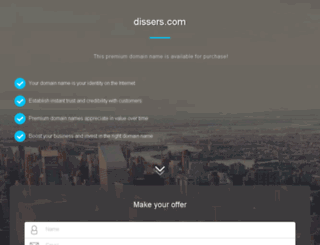 dissers.com screenshot