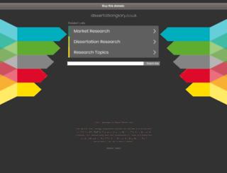 dissertationglory.co.uk screenshot