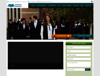 dissertationservices.co.uk screenshot