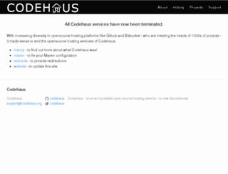 dist.codehaus.org screenshot
