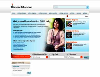 distance-education.org screenshot