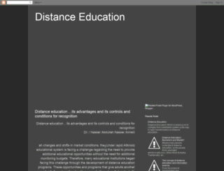 distance-education1.blogspot.ae screenshot