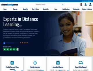 distance-learning-centre.co.uk screenshot