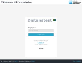 distanstest.str.se screenshot