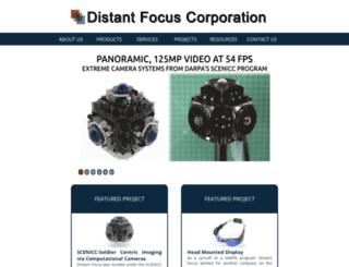 distantfocus.com screenshot