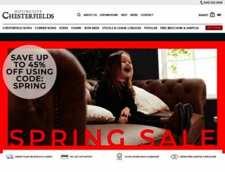 distinctivechesterfields.co.uk screenshot