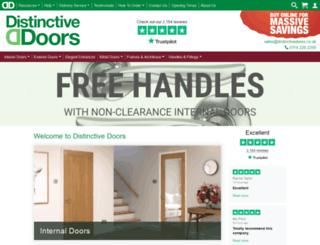 distinctivedoors.co.uk screenshot