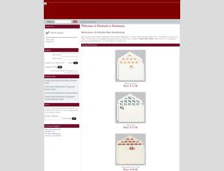 distinctivestationery.com screenshot