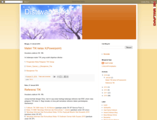 distiwan.blogspot.com screenshot