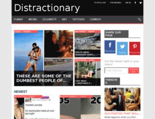distractionary.tv screenshot